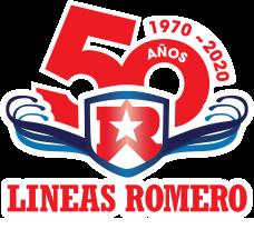 Logo 50 años de experiencia lineas romero